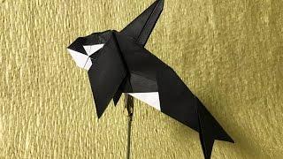 【折り紙】 シャチを折ってみた 【折り方】 thumbnail