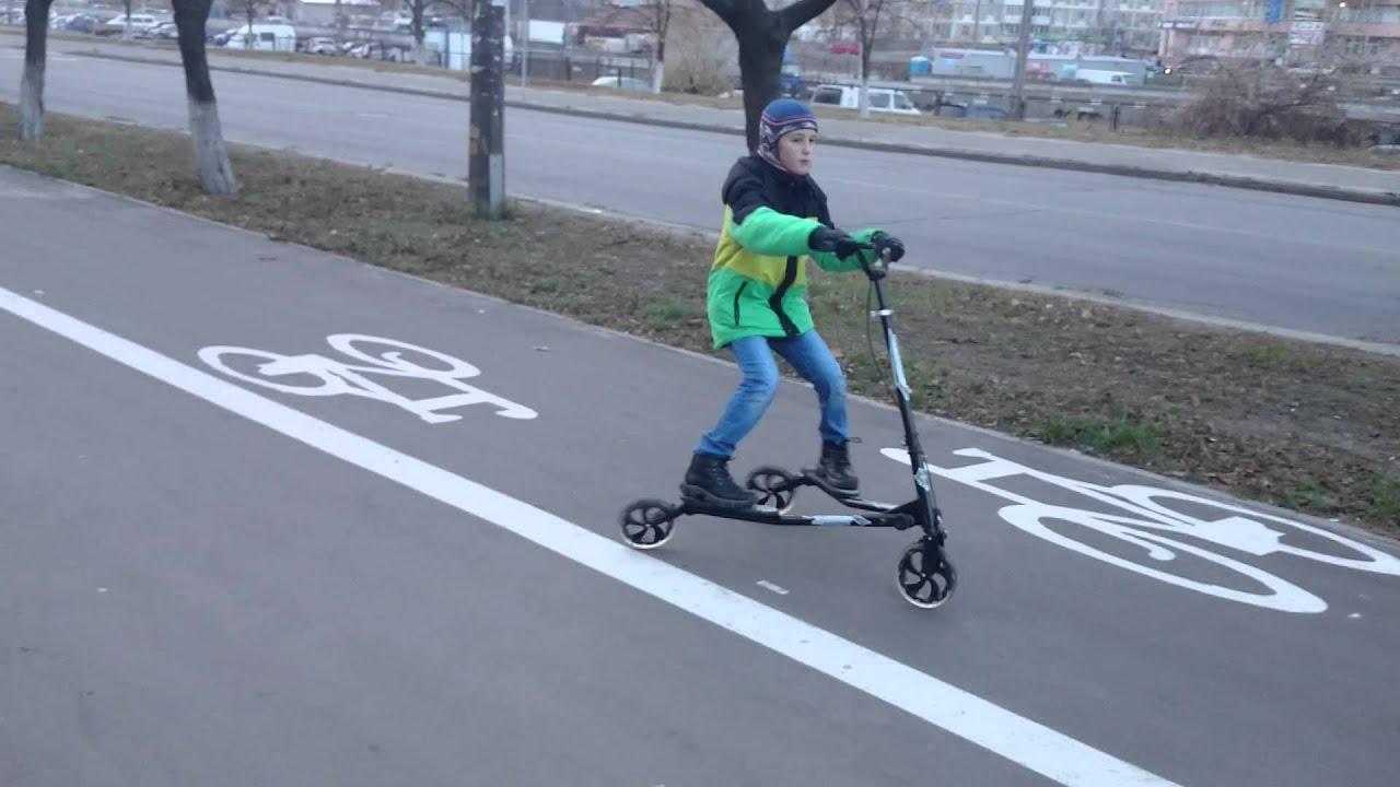 Самокат трехколесный Best Scooter Mini - YouTube