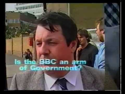 Real Lives BBC censorship Strike - Tory Speak TUTV 1985 NUJ Martin McGuinness