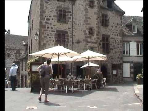A VISIT TO SALERS IN THE AUVERGNE