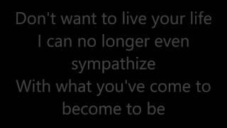 atreyu a bitter broken memory lyrics
