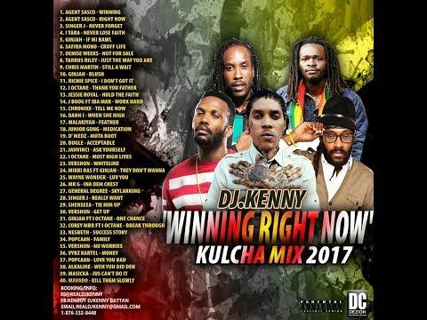 DJ KENNY WINNING RIGHT NOW KULCHA MIX 2017