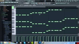 fl studio 10 tutorial how to make a swedish house melody