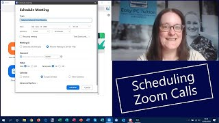 Scheduling Zoom Calls / Meetings  |   Staying Connected  |  Easy PC Tuition