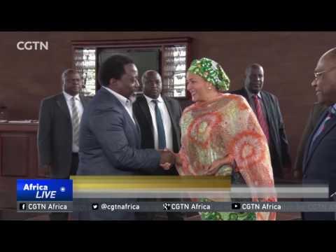 Deputy U.N. Chief in DRC: Issues facing women raised with President Kabila