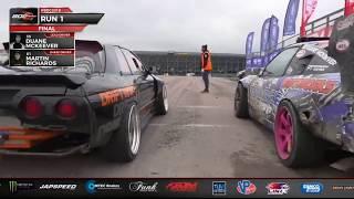 mckeever runs in british drift championship