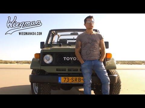 The man and his machine - Toyota Land Cruiser 70 restored by Wiegman 4x4