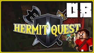 hermit quest s01e08   the noob strikes again minecraft pvp