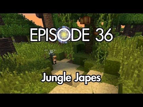 Minecraft - Galaxy Odyssey ep 36: Jungle Japes