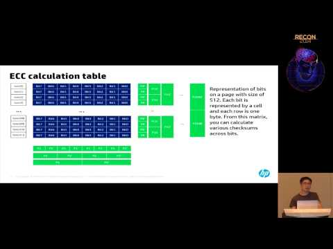 REcon 2014 - Reverse Engineering Flash Memory For Fun and Benefit (Matt Oh)