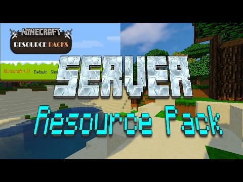 how to add resource pack to minecraft server