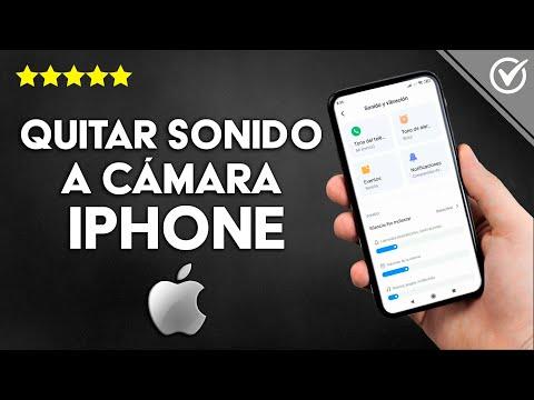 Cómo Silenciar o Quitar el Sonido a la Cámara del iPhone Fácilmente
