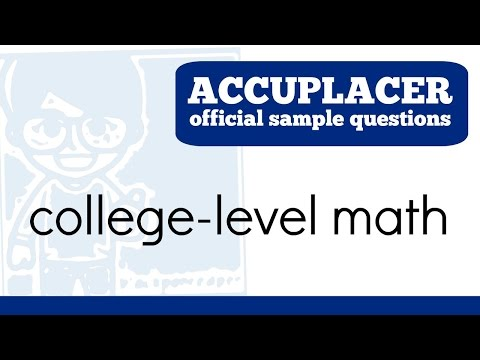Download Accuplacer Math Test Practice Exam video | Fashion Music