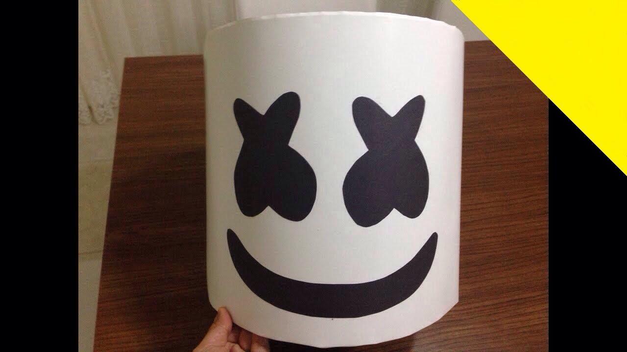 Ser Marshmello Cómo Hacer Una Máscara De Marshmello