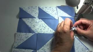 Пэчворк мастер класс. Как собрать блок из квадратов