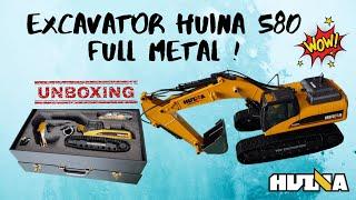 unboxing full metal excavator (drc toys) thumbnail