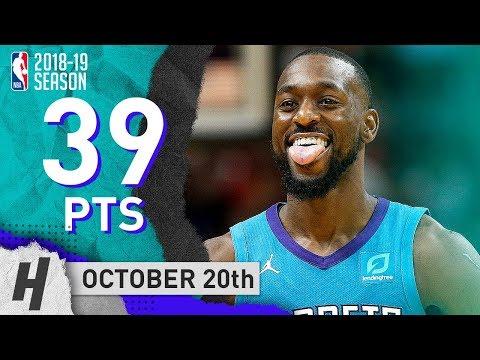 Kemba Walker CLUTCH Highlights Hornets vs Heat 2018.10.20 - 39 Pts, 7 Assists!