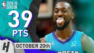 Kemba Walker CLUTCH Highlights Hornets vs Heat 2018.10.20 - 39 Pts, 7 Assists!