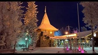 Best of Santa Claus Village & Rovaniemi in Lapland videos: Arctic Circle Lapland families Christmas