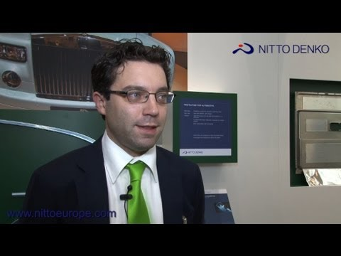 Werner Fraussen, Senior Key Account Manager - Nitto Denko - industrial adhesive products