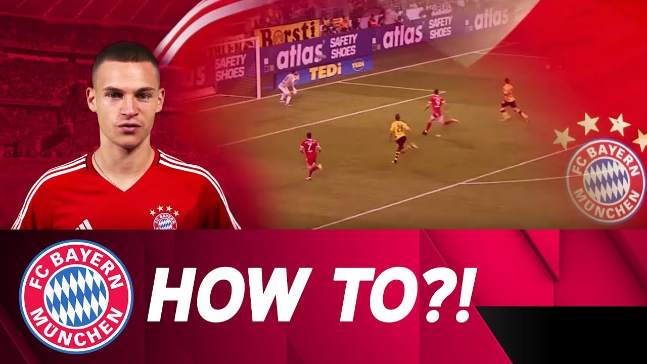 """❓❗ """"How to put in the perfect cross """" w Joshua Kimmich"""