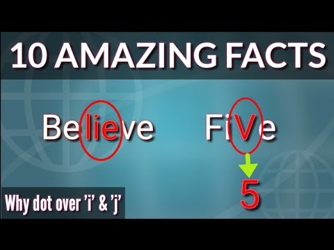 10 Amazing Facts About English# Facts About Spelling, Words, Letters,Meaning Much More