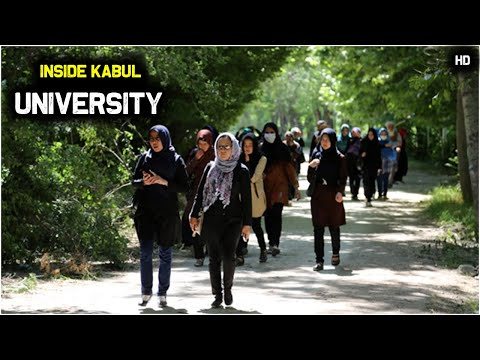 Inside Kabul university Afghanistan!