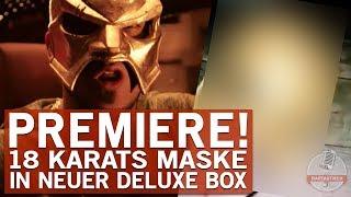 18 Karat packt seine Maske in Deluxe Box!