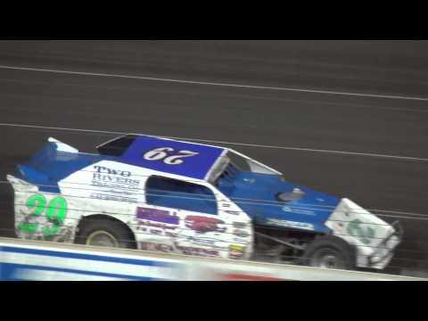 Shiverfest Sport Mod Heat 3 Lee County Speedway 10/25/14