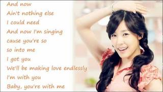 Tiffany (SNSD) - Stickwitu / with lyrics on screen