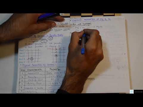 Reactivity Of Magnesium & Calcium - Chemical Reactivity
