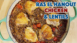 🔵 Chicken And Lentils Ras el Hanout