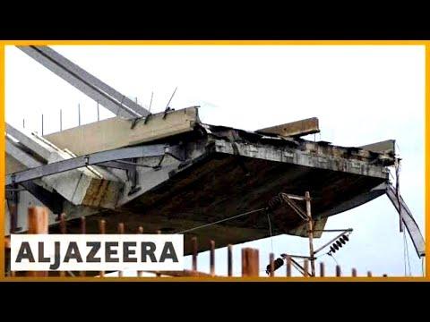 🇮🇹 Italy: Bridge collapse near Genoa kills several | Al Jazeera English