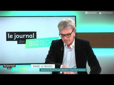 Le journal des biotechs : Nash, Bone Therapeutics, l'interview de Marc Le Bozec (Pluvalca Biotech)