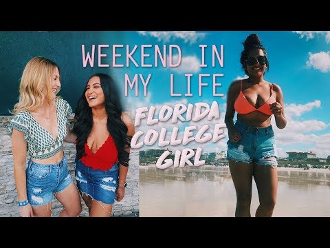 FLORIDA COLLEGE GIRL'S WEEKEND IN MY LIFE