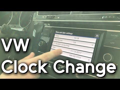 Volkswagen Daylight Savings Time Change