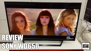 Review Sony WD650 Nuevo modelo Television Smart TV 2016