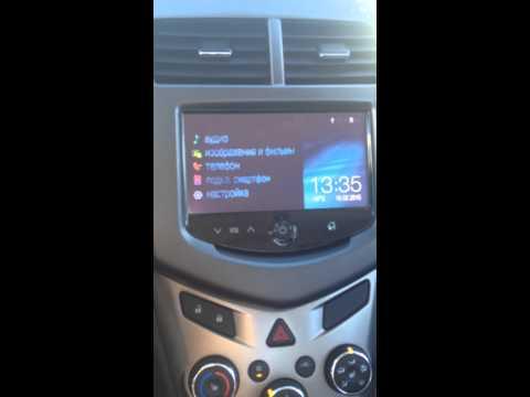 Навигация в системе MyLink на Chevrolet