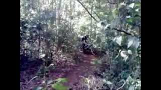 Downhill na Pista da Taquareira, em Taquara, RS.