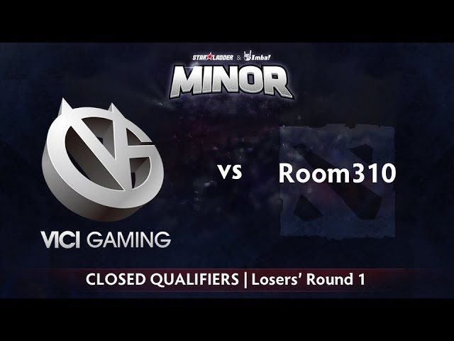 Vici Gaming vs Room310 Game 2 - StarLadder ImbaTV CN Qualifier: Losers' Round 1