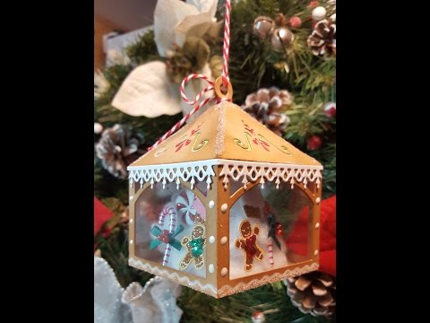 "Christmas Ornaments, Gifts & Decor 2016 - ""Gingerbread"" House Ornament"