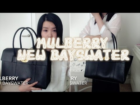 MULBERRY New Bayswater bag review | 迈宝瑞 新款bayswater 包包分享
