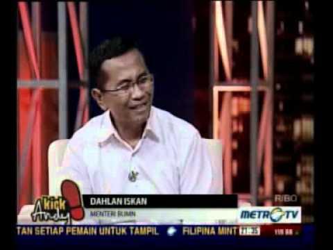 (1/6) Dahlan Iskan - KickAndy - Sepatu Dahlan - 15 Juni 2012