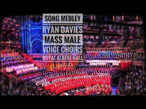 Cylch O Ganeuon Ryan Davies @ Royal Albert Hall London Welsh Festival Of Male Choirs 2018