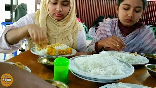 Eating Lunch(Rice/Chicken Curry/Daa...