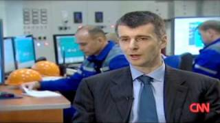 Mikhail Prokhorov's interview to CNN