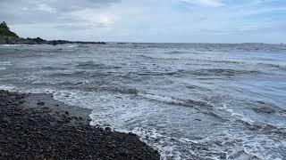 자연에빠지다 ASMR @쇠소깍!    쇠소깍 해변의 발…