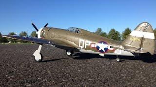 maiden flight only 2s bl e flite umx p 47 thunderbolt wwii warbird rc plane