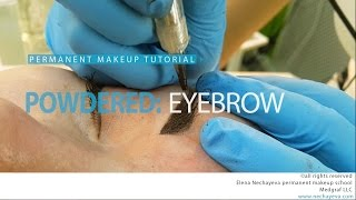 Permanent makeup tutorial: powdered eyebrows / Уроки татуажа - пудровые брови(TURN the captions on! English captions is available. Official website http://www.tatuazh-obuchenie.ru and free PMU tutorials: http://www.pmu3.ru Periscope: ..., 2016-06-10T23:43:48.000Z)