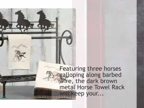 Horse Towel Rack - lonestarwesterndecor.com